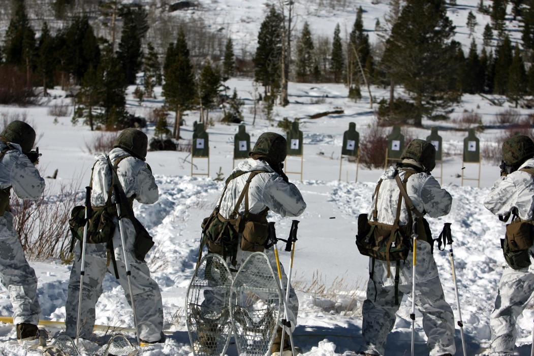 elegant shoes hot products discount USMC Snow Camouflage Uniform